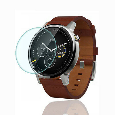 9H Tempered Glass LCD HD Screen Protector Film For Motorola Moto 360 2nd 46mm