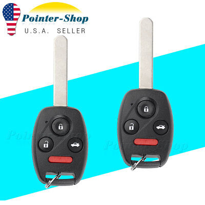 2 Replacement for Honda Civic SI EX Keyless Entry Remote Key Fob  N5F-S0084A