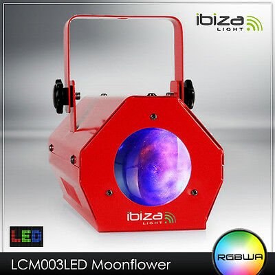 Led Licht Effekt Rgbwa Moonflower Party Disco Club Color Moon Flower Laser Rot