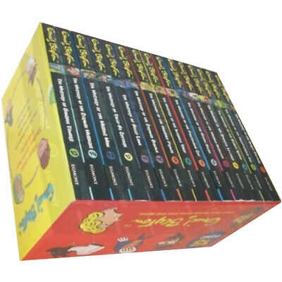 Enid Blyton 15 Books Box Set Classic Mystery Series Collection Pack Brand New