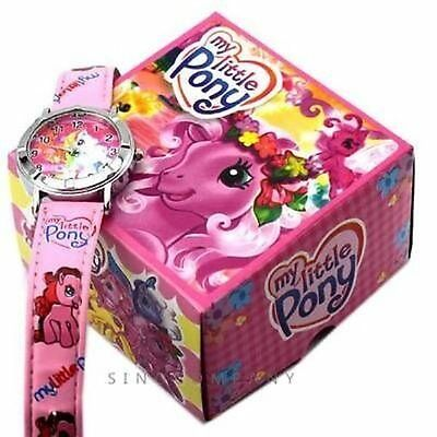 My Little Pony Boxed Wrist Watch Pink Kids Girls Childs Toy Gift Box Uk Seller