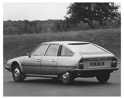 1983 Citroen CX 20 TRE Automobile Photo Poster zch8845