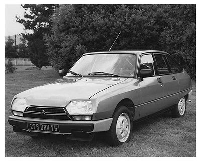 1981 Citroen GSA X 3 Automobile Photo Poster zch8860