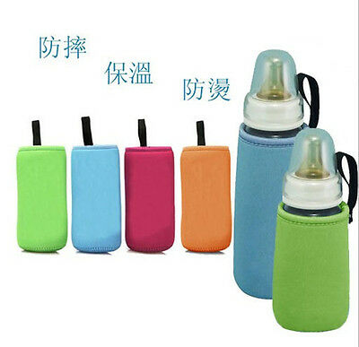 Baby Insulated Keep Warm Holder Storage Bag Pouch Cover for Milk Bottle M44-47