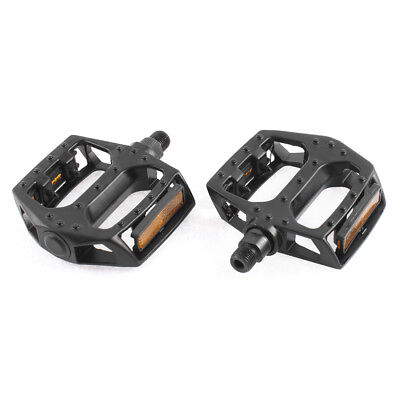 2 Pcs Aluminum Alloy Platform Flat Type Nonslip MTB BMX Cycling Bicycle Pedals