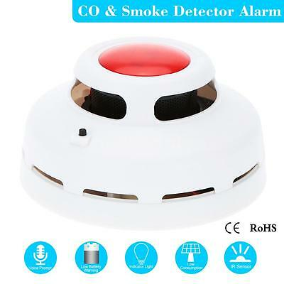 Standalone Carbon Monoxide And Smoke Alarm CO & Smoke Detector for Security 7C6J