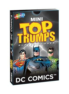 Mini Top Trumps - DC Comics