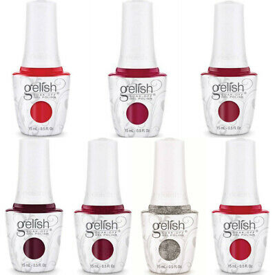 Hamony Gelish - RED MATTERS Collection HOLIDAY 2015 - Pick Any Shade 0.5oz