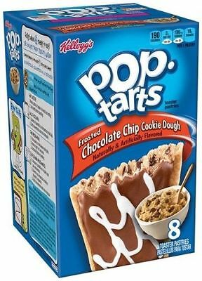 Kellogg's Pop Tarts Frosted Chocolate Chip Cookie Dough Toaster Pastries