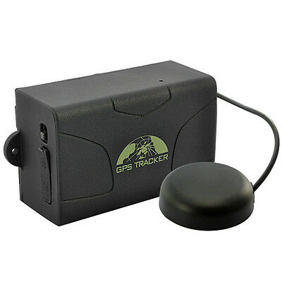 New Mini Real-Time GSM GPRS GPS Tracker Car Vehicle Tracking System Device TK104