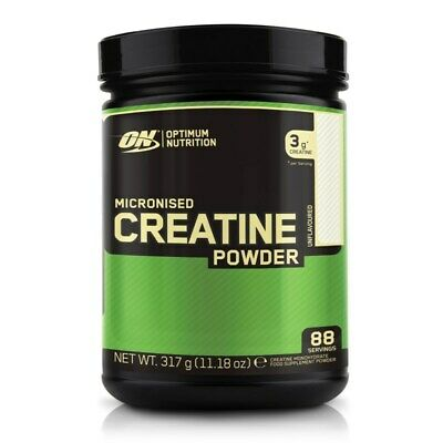 (40,22 EUR/1 kg) Optimum Nutrition Micronised Creatine Powder 317g NEU OVP