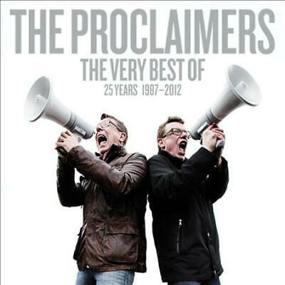 The Proclaimers - The Very Best Of: 25 Years 1987-2012 New Cd