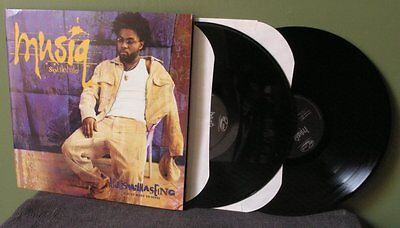 """Musiq Soulchild """"Aijuswannaseing"""" 2x LP OOP VG++ I Just Want To Sing"""