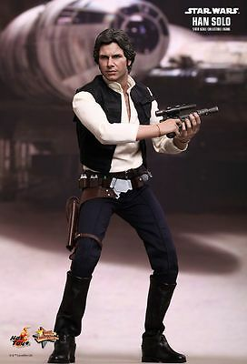 Hot Toys 1/6 Star Wars Episode Iv A New Hope Mms261 Han Solo Action Figure