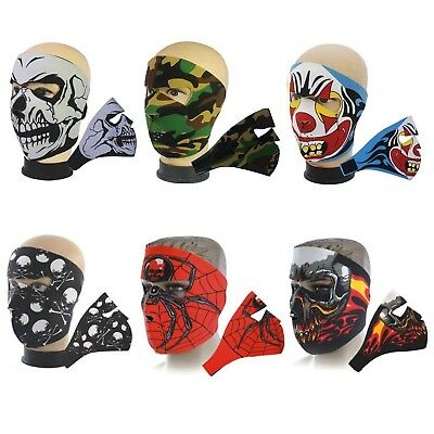 Neoprene Bike Ski Sport Bmx Skateboard Motorbike Snowboard Winter Full Face Mask