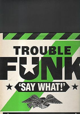 TROUBLE FUNK - say what LP
