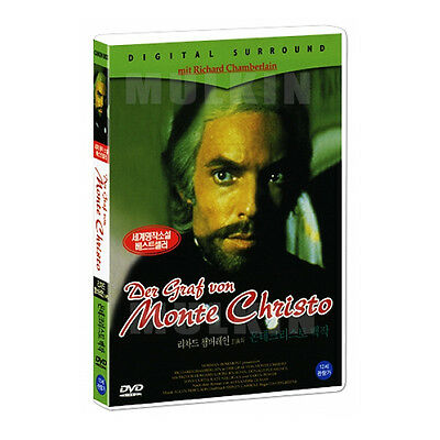 The Count Of Monte Cristo (1975) DVD -Richard Chamberlain *New* *Sealed*