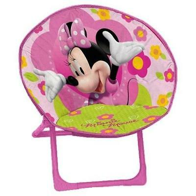 Arditex Wd7415 Lune Minnie Mouse Disney Fauteuil Polyes