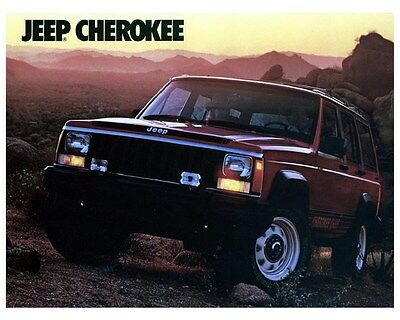 1987 Jeep Cherokee Photo Poster zca2749