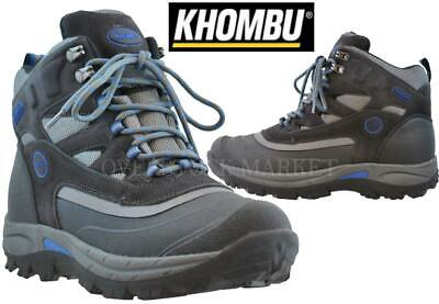 New Men's Khombu Fleet Hiker Terrain Weather Rated Boots! Variety Size & Color!