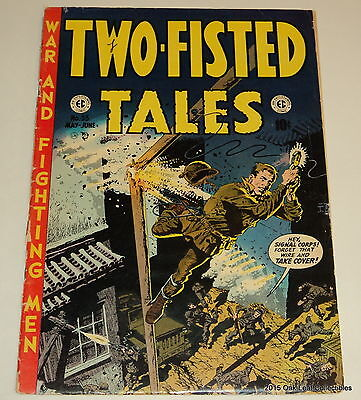 Two Fisted Tales 33 EC Comic Book 1953 War! issue. G