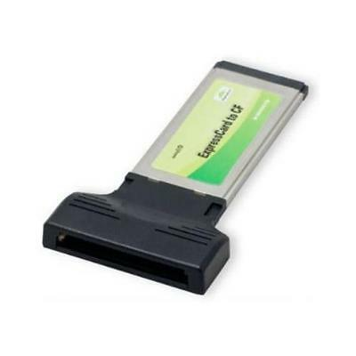 SYBA SY-EXP60001 ExpressCard Compact Flash Adapter Works like SSD