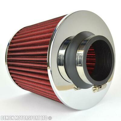 Performance Mesh Twin Cone Air Filter Red 63mm / 2.5 inch Inlet (P/N 38386)