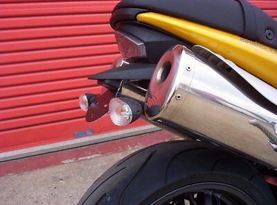 Speed Triple 1050 2007 LP0014 Black R&G Racing Tail Tidy - Licence Plate Holder