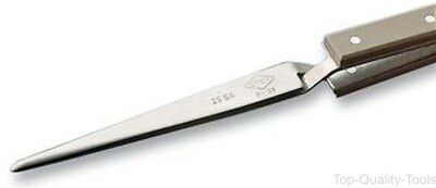 Tweezer, Reverse Action, Straight, 150 mm, Stainless Steel Body, Stainless Steel