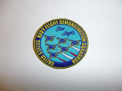 b3415 US Navy Flight Demonstration Squadron patch Blue Angels USN IR19D