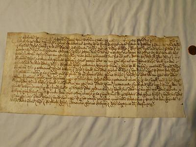Antique c1640 CHARLES I Reign YARDLEY Area FINAL CONCORD Manuscript #A47