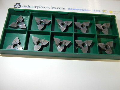 Tool Flo Tnma 43ng w.070 TF18976 Xp3 Carbide Grooving inserts, Qty 10 USA