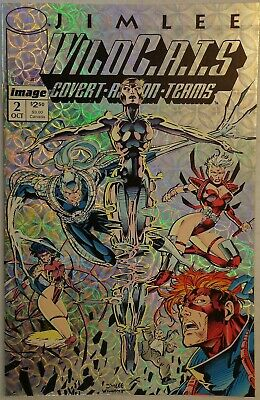 WildC.A.T.S. Covert Action Teams Jim Lee #2 Silver Image Comics October 1992 NM