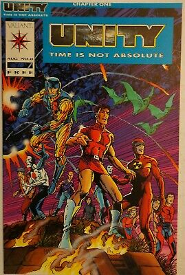 Unity Time Is Not Absolute Shooter Windsor-Smith Vol. 1 #0 Marvel Comics 1992 NM