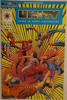 Unity Time Is Not Absolute Shooter Volume 1 #1  Marvel Comics October 1992 NM