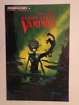 Interview with the Vampire Anne Rice Moeller Williams #5 Innovation 1992 NM