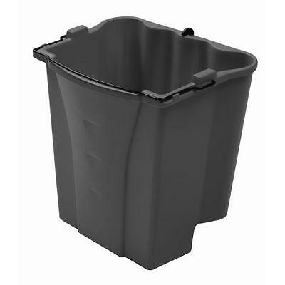 Rubbermaid Commercial Executive Series Dirty Water Bucket, Gray (1863900) New