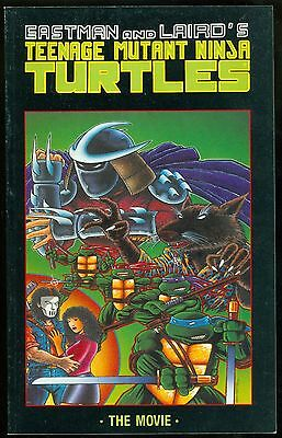Teenage Mutant Ninja Turtles TMNT Eastman Laird The Movie B&W Mirage June 1990