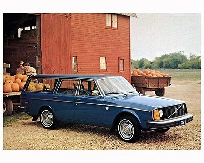 1978 Volvo 245 Automobile Photo Poster zca2829