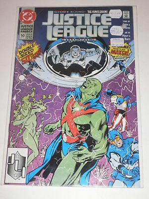 Justice League of America #50 VF-NM DC Comics May 1991
