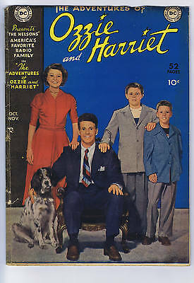 Adventures of Ozzie and Harriet #1 DC 1949