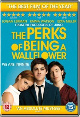The Perks of Being a Wallflower - Sealed NEW DVD - Emma Watson