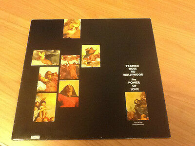 """12"""" Mix Frankie Goes To Hollywood The Power Of Love Ztt Ex-/ex- Uk Ps 1984 Bss"""