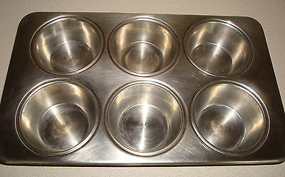 Revere Ware Stainless Steel 2516 88 Cupcake Muffin Pan