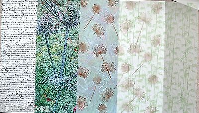2 x A4 Vellum 112gsm Choice of White Manuscript/Teasel/Dandelion x 2  NEW