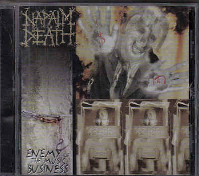 Napalm Death-Enemy Of The Music Busines cd album