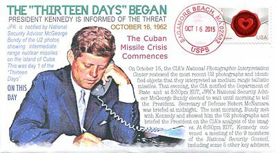 COVERSCAPE computer designed JFK start of Missile Crisis event cover