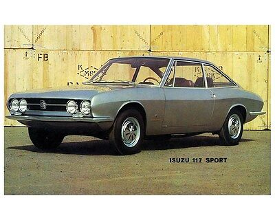 1967 Isuzu 117 Sport Automobile Photo Poster zca3027
