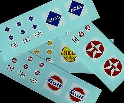 MATCHBOX CUSTOM/CODE 3 TRANSFERS/DECALS for A1b BP PETROL PUMPS