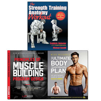Strength Training,Principles of Muscle 3 Books Collection Set Your Ultimate Body